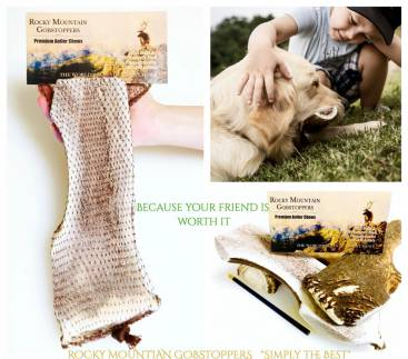 GIANT-SPLIT Rocky Mountian Gobstoppers Premium Elk Antler Dog Chews (By-the-Pound)