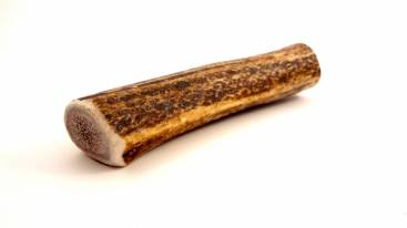 SMALL-WHOLE Rocky Mountain Gobstoppers Premium Elk Antler Dog Chews By-The-Pound
